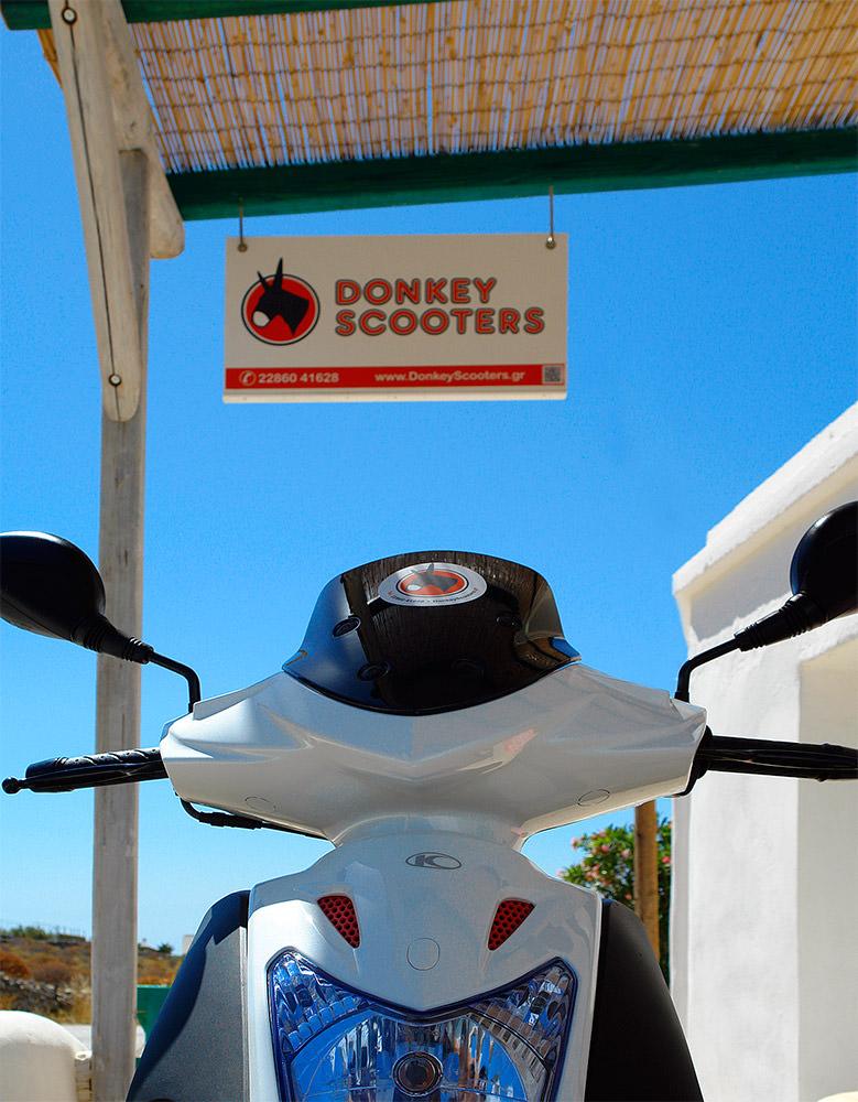 Pavlos x2 Folegandros - Donkey Scooters Rent a bike